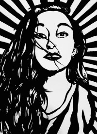 """Black and White Girl Pop art "" Posters by ArtsyGirl6899 ..."