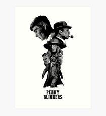 Peaky Blinders Wallpaper Iphone X Peaky Blinders Art Prints Redbubble