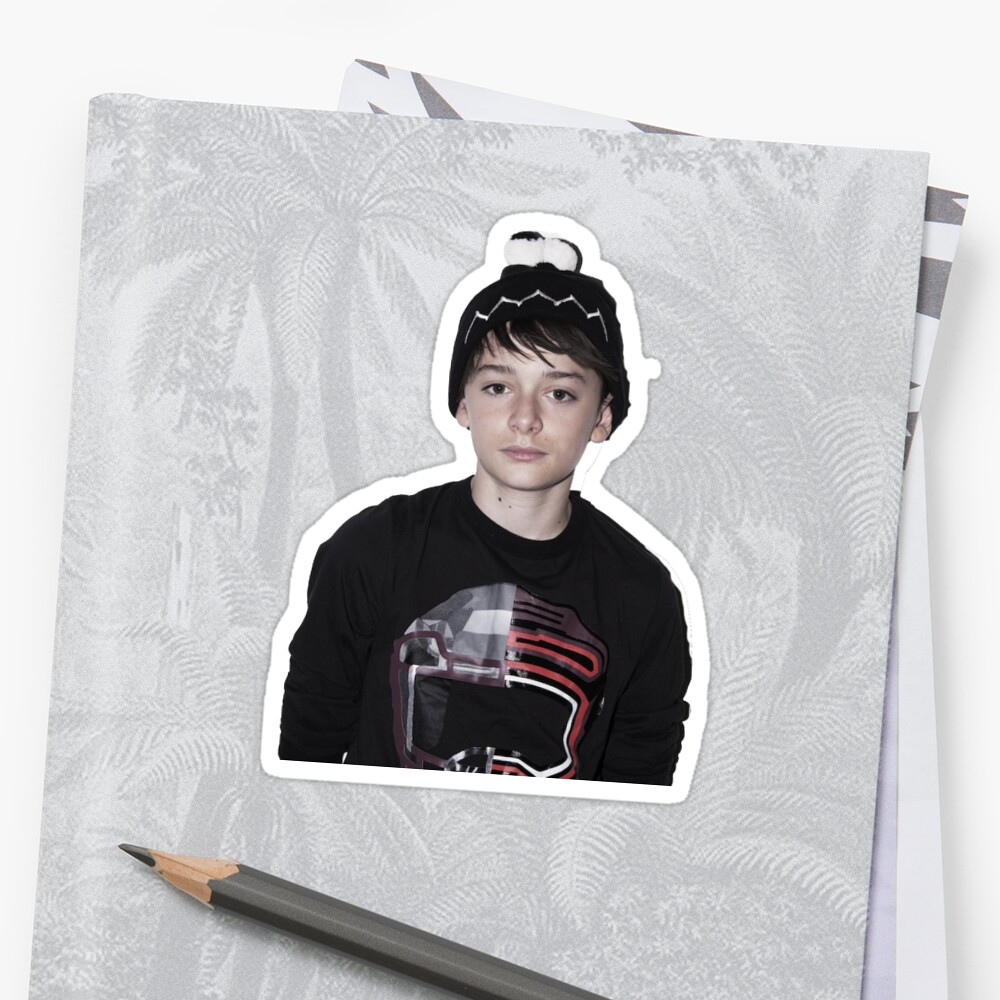"Duvet Covers Canada ""noah Schnapp"" Stickers By Electricgal 