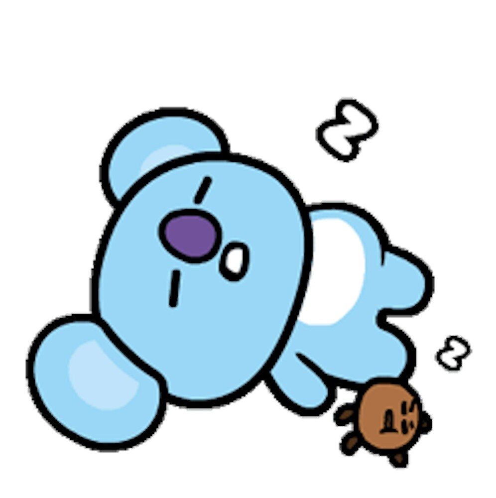 Iphone X Off White Wallpaper Quot Koya And Shooky From Bt21 Quot By Jess Lung Redbubble