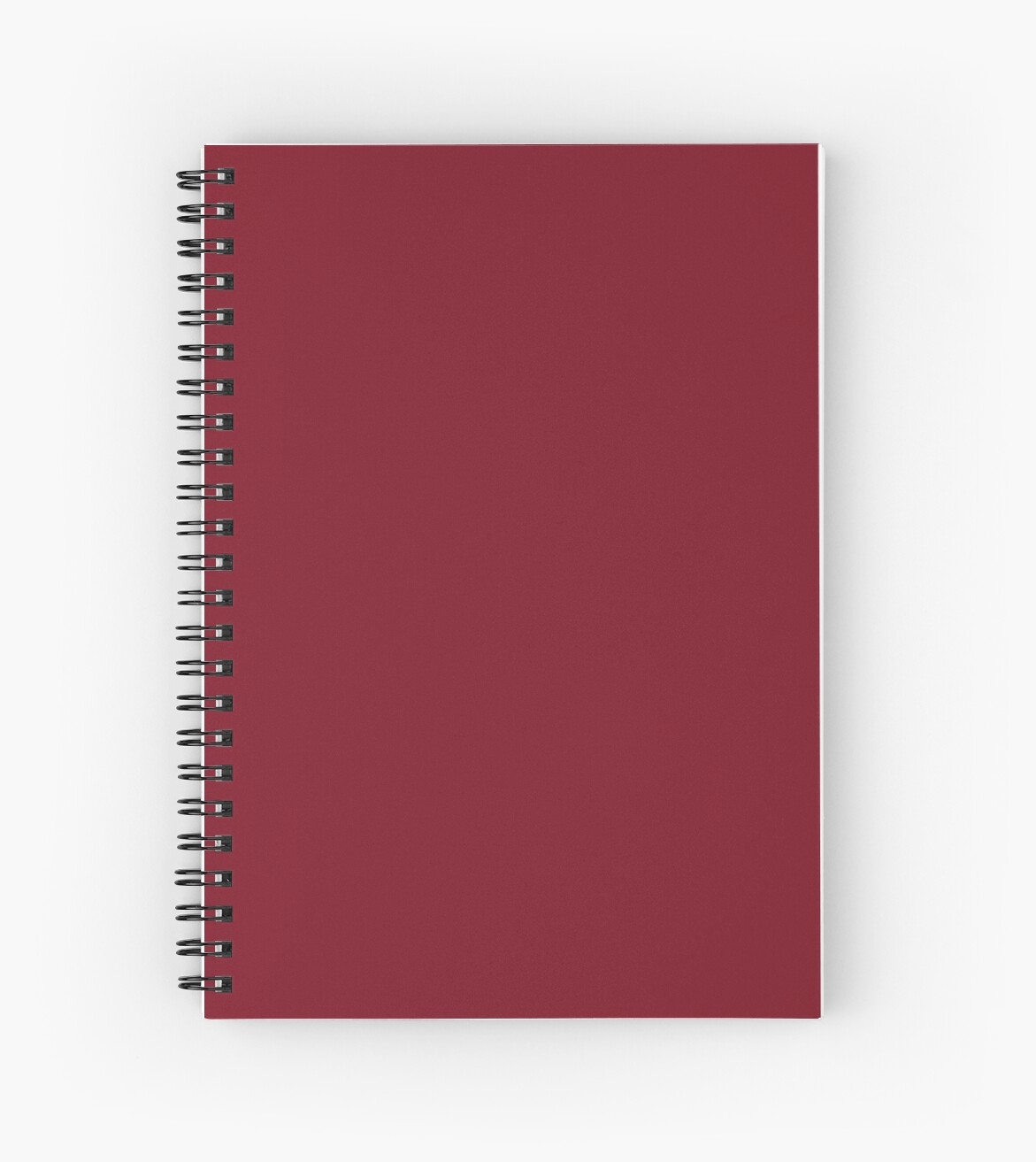 Color Trends Fall 2018 Deep Dark Red Pear 2018 Fall Winter Color Trends Spiral Notebook By Podartist