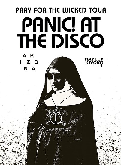 panic for pray disco the wicked tour 2018 mrono\