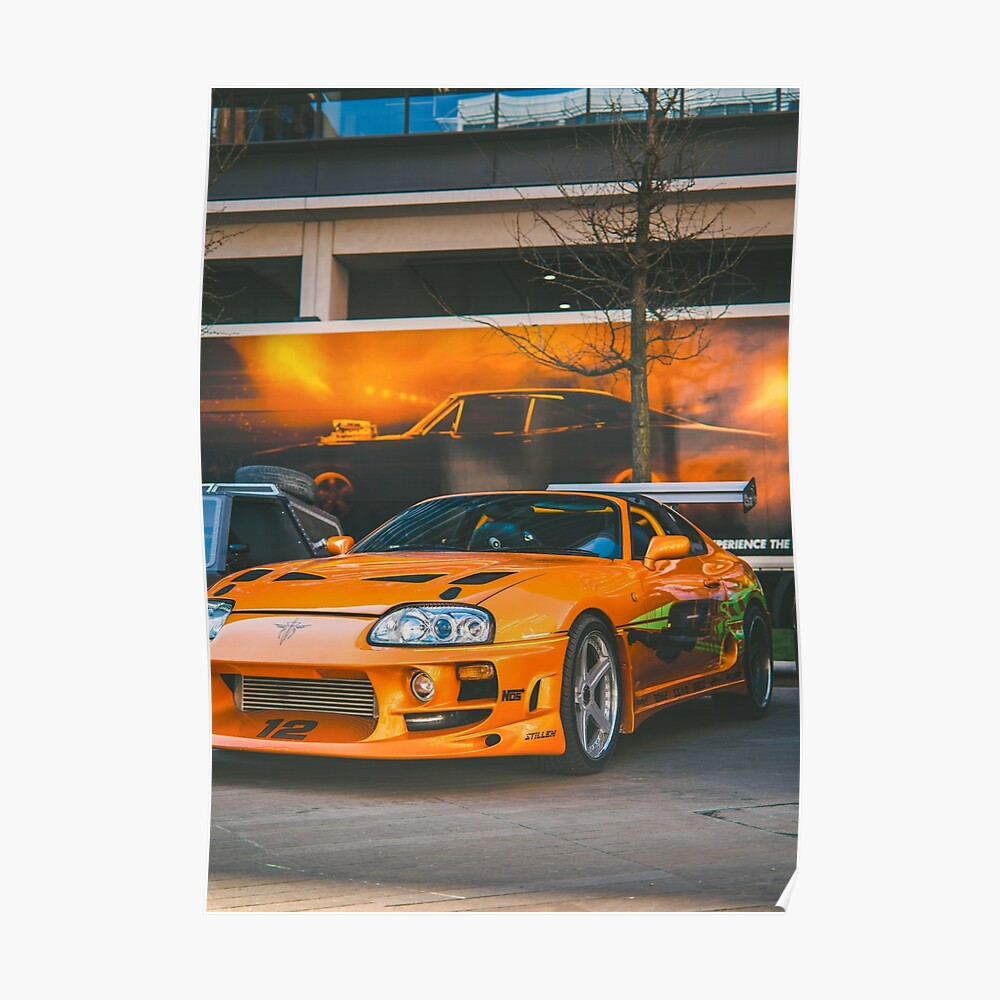 Fast And Furious Toyota Supra