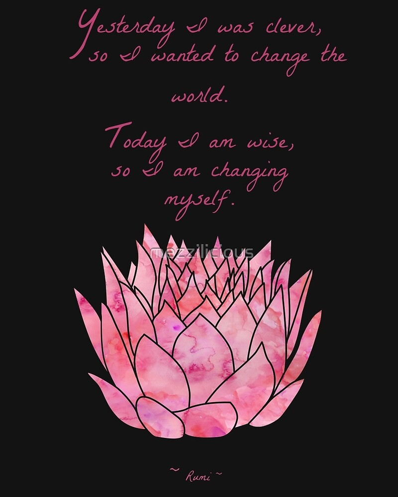 Life Is A Gift Quotes Wallpaper Quot Lotus Flower Rumi Quote Inspirational Quot By