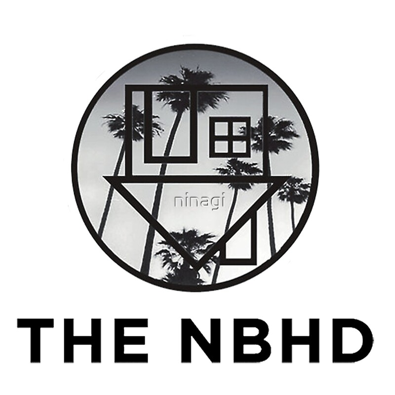 Palm Tree Iphone Wallpaper Quot The Neighbourhood Palm Tree Print The Nbhd Band Shirt