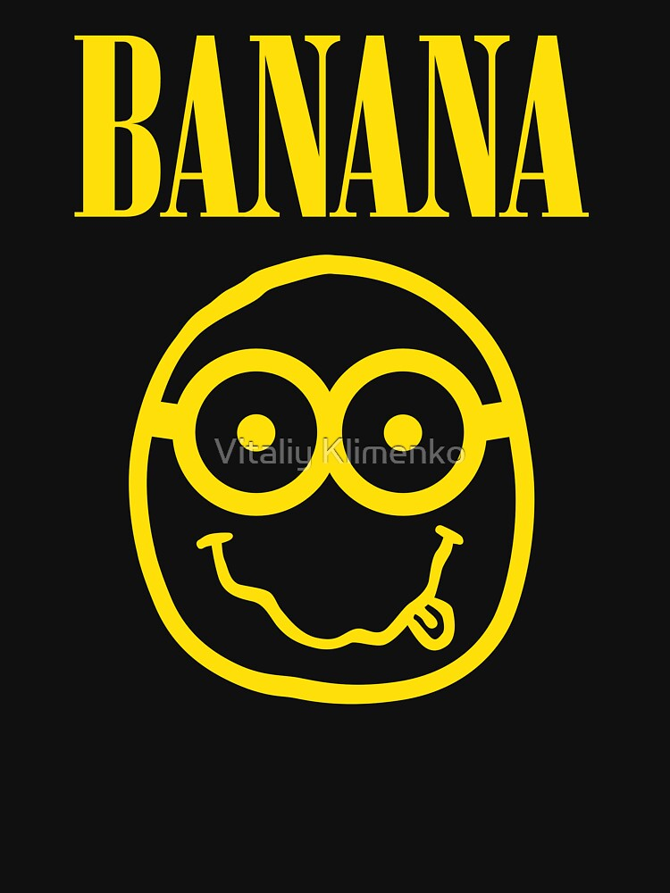 Iphone Product Red Wallpaper Quot Nirvana Banana Logo Quot Unisex T Shirt By Donot Redbubble