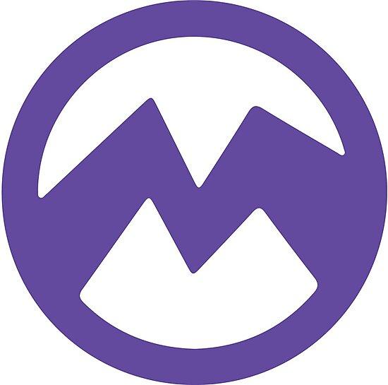 Purple evil minion logo- El Macho\
