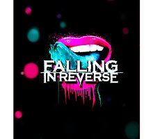 Falling In Reverse Lips Wallpaper Falling In Reverse Art Design Amp Photography Redbubble