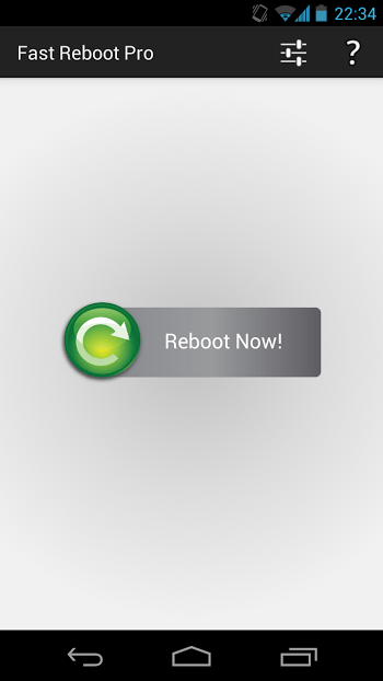 Fast Reboot cracked
