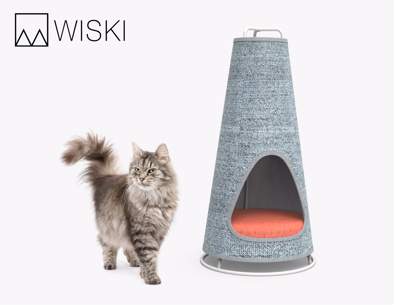 Designer Cat Beds The Cone By Wiski A Modern Cat Scratcher And Bed I Have Cat