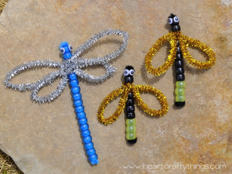Beaded Dragonfly Lightning Bugs I Heart Crafty Things