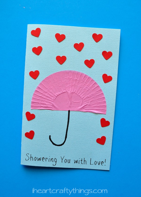 Showering You with Love\ - mother sday cards