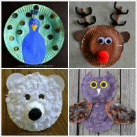 Paper Plate Masks Animals & 20+ Paper Plate Animal Crafts ...