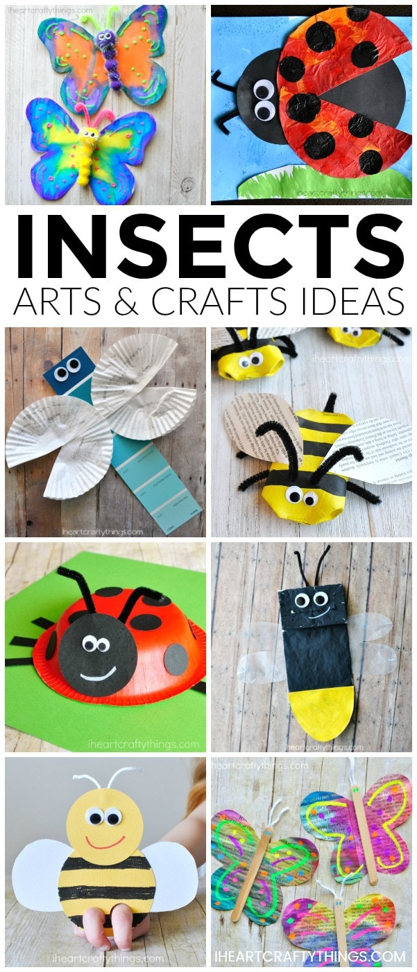 Art Craft Ideas Insects Arts And Crafts Ideas I Heart Crafty Things