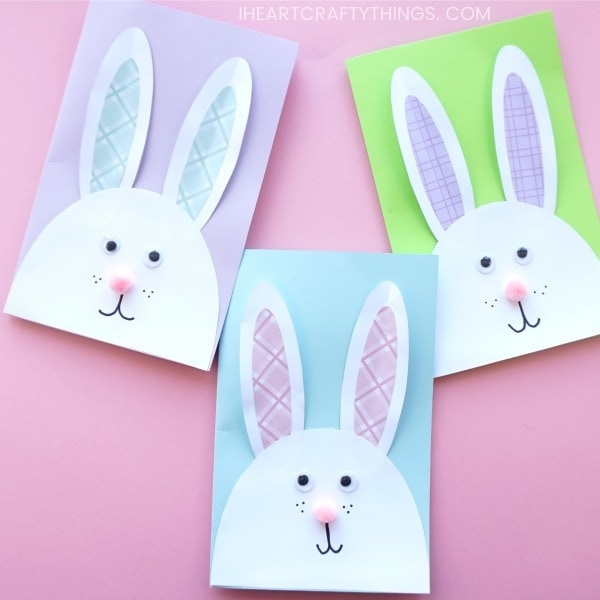Cutest Bunny DIY Easter Card