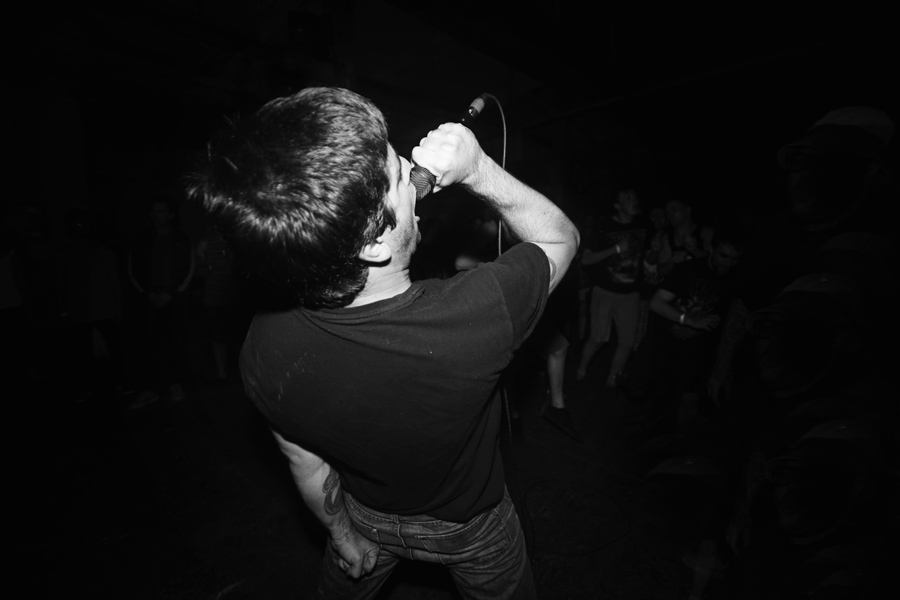 Dead Tired live in Toronto. Photo by Riley Taylor.
