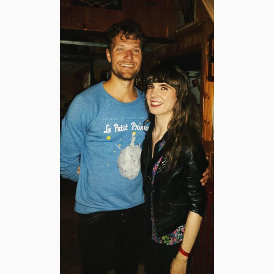 Kristin with Rich Aucoin