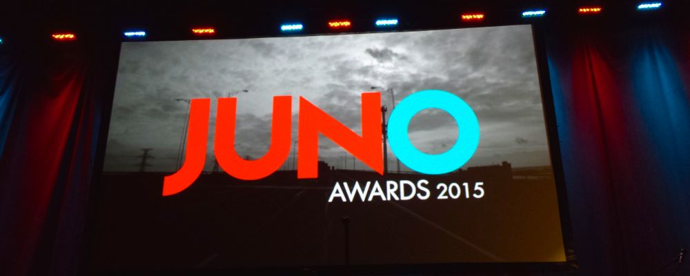 PLAYLIST - JUNO Awards 2015