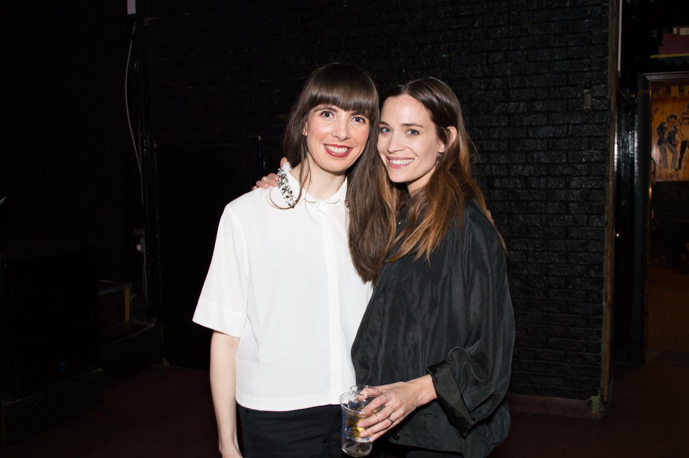 With Kathleen Munroe. Photo by Ashlina Sousa