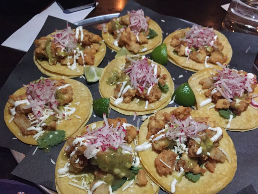 Tacos from Mezcal TNT