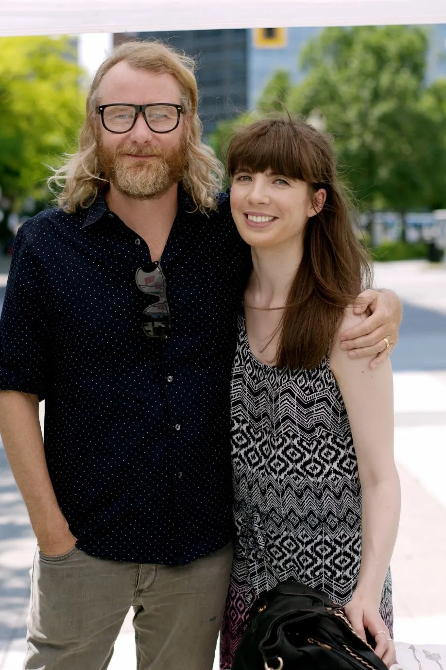 Matt Berninger and Kristin Archer. Photo by Lisa Vuyk