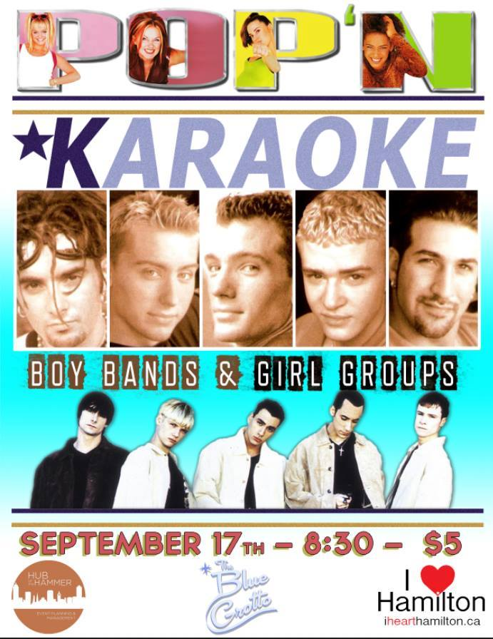 POP'N KARAOKE AT THE BLUE GROTTO (Sept. 17)