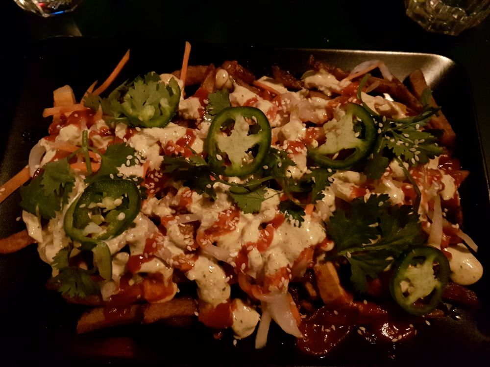 Banh Mi Fries at WORK. Photo by Kristin Archer