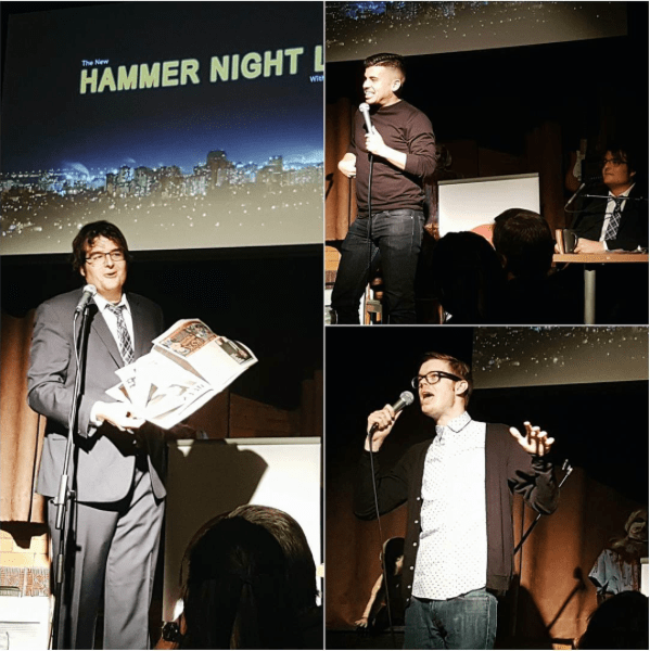 Matthew Surina, Zak McDonlad, Kev Sheeler at Hammer Night Live
