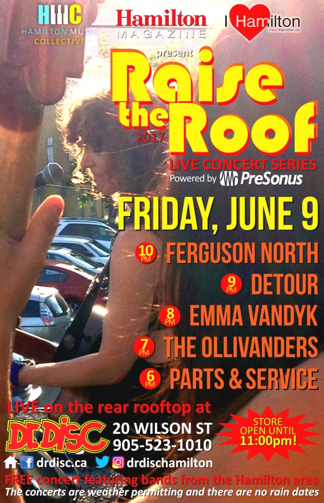 I HEART HAMILTON CO-PRESENTS RAISE THE ROOF @ DR. DISC (June 9)