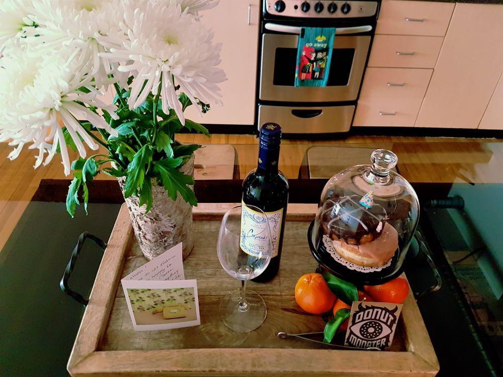 My birthday month treats from Airbnb Hamilton