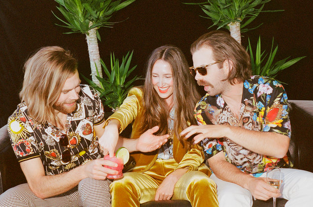 The Darcys and Leah Fay. Photo by Maya Fuhr.