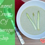 Coconut Cream of Asparagus Soup