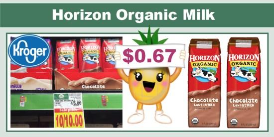 Horizon Organic Chocolate Milk coupon deal 3