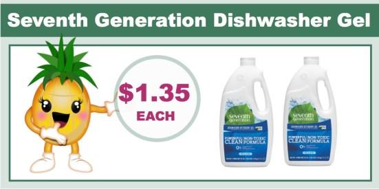 Seventh Generation Dishwasher Gel