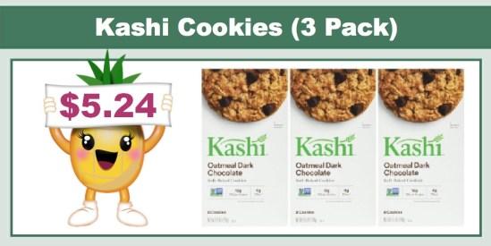 Kashi Cookies 3 Pack
