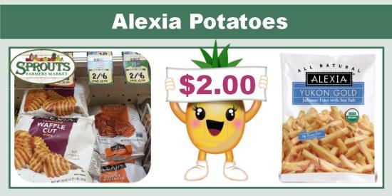alexia potatoes coupon deal
