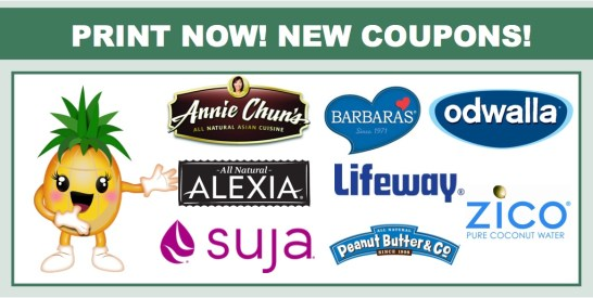new coupons 0926