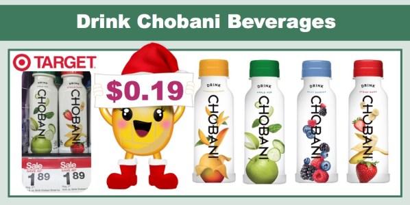 Drink Chobani Beverages