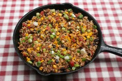 Upscale Check Out How To Cook This At Tex Mex Beef Skillet I Heart Recipes Tex Mex Recipes Auntic Tex Mex Recipes Sides