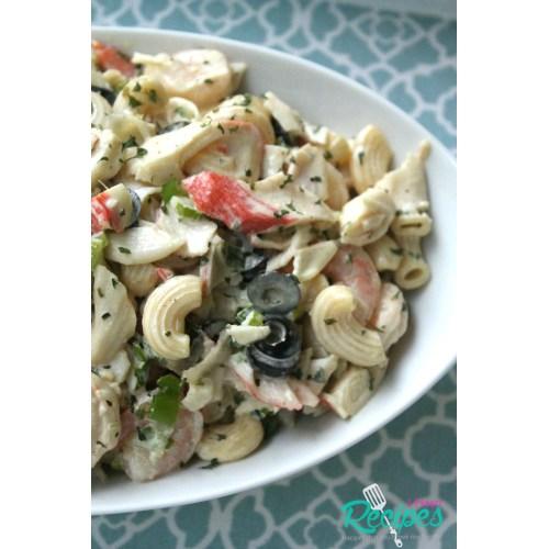 Medium Crop Of Crab Meat Salad