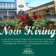 {Now Hiring} Fairview Garden Center