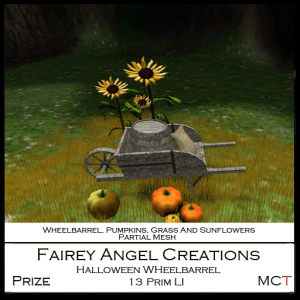 FAC Ad Halloween Wheelbarrel Prize