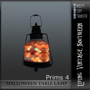LVS Halloween Table Lamp AD