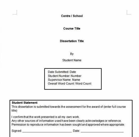 Reference master\u0027s thesis apa format - Brilliant Essay Thesis