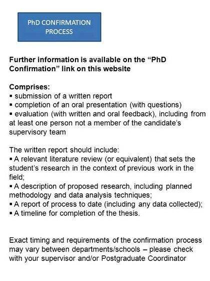 Phd thesis review report - PhD Progress Self-Report Sample Fordham