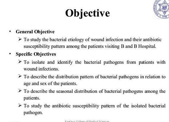 Research objectives examples thesis - How to set an objective for