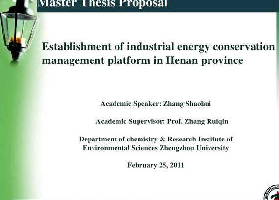 Ms Thesis Proposal Presentation - Thesis Proposal Presentation