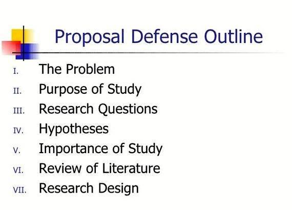 Sample Thesis Proposal Presentation Powerpoint - Thesis Proposal