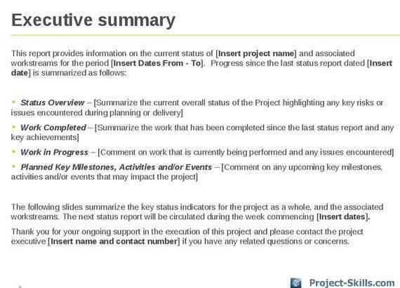 Writing an executive summary dissertation definition