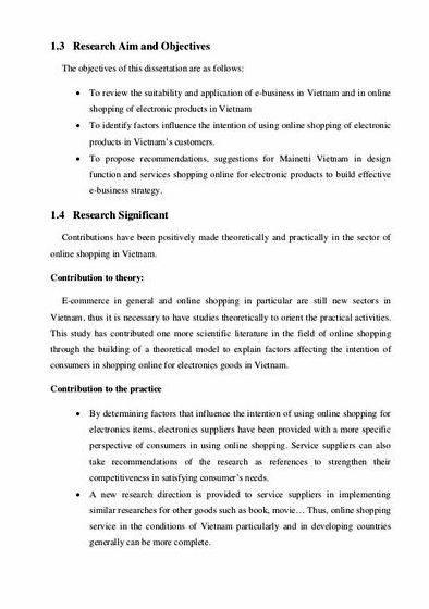 Objectives of thesis proposal Lesson 3 Research objectives Better